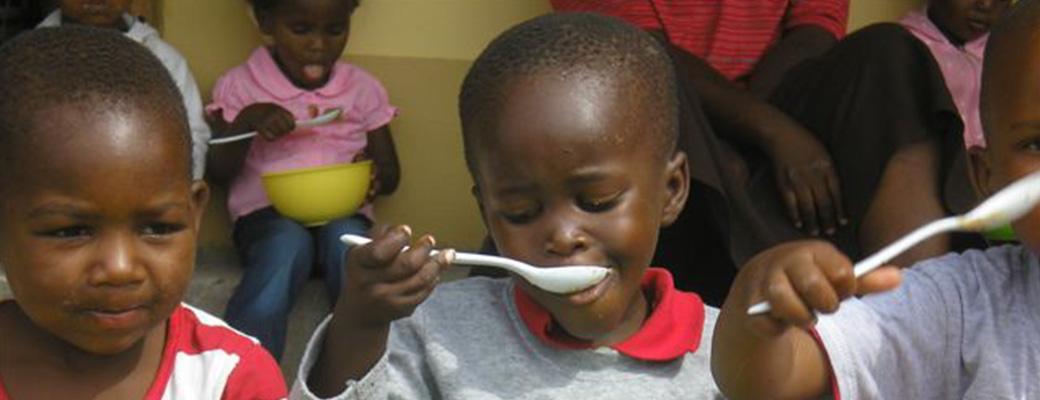 Nahrung für die Kinder