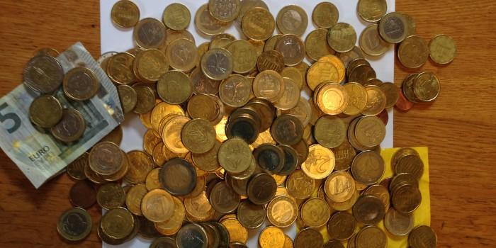 Abschlußklasse 10a spendet 139,54 Euro