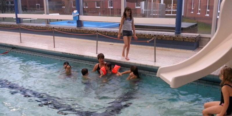 Schwimmkurse für unsere traumatisierten Kinder!