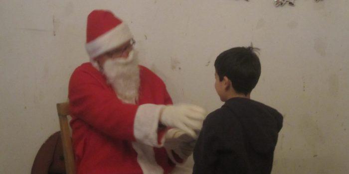 Weihnachtsfeier für die Trauma-Kindergruppe
