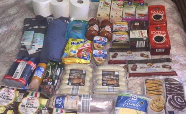 Care Paket 📦 in der umkämpften Zone der Ukraine angekommen🍀
